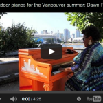 Outdoor Pianos and Seaside Serenading!