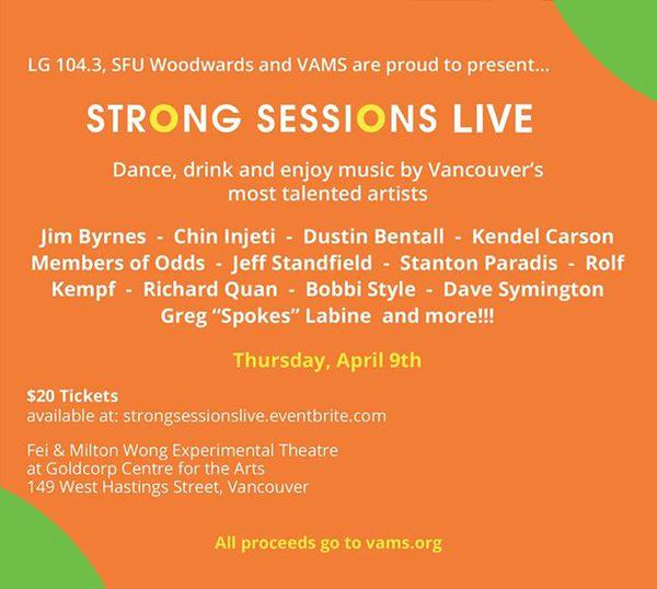 Strong Sessions Live