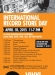 International Record Store Day – April 18, 2015